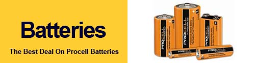 Duracell Procell batteries from GoodBuyguys.com