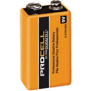 Durcell Procell 9volt battery