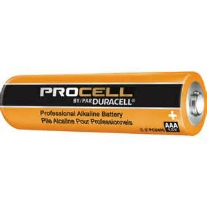 Duracell Procell AAA Batteries