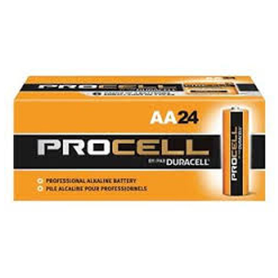 Box of Duracell Procell Batteries