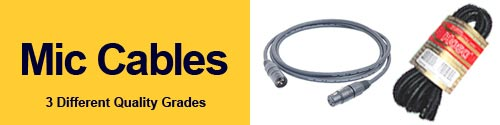 Mic Cables From GoodBuyguys.com
